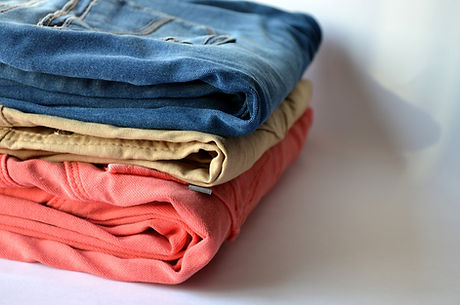 Vêtements plissées