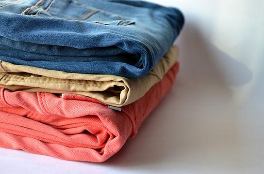 roupas dobradas