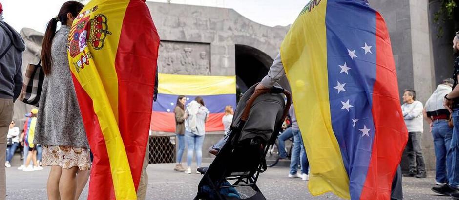 Venezolanos en España,  residencia humanitaria o modificación residencia y trabajo