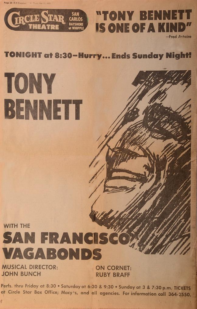 tony bennett and vagabonds.JPG