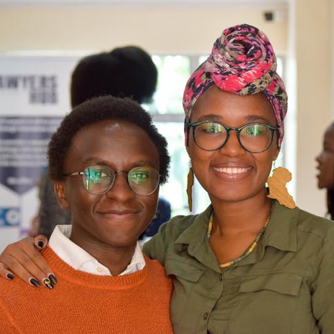 Mwaniki Nyaga and Monica Wangari