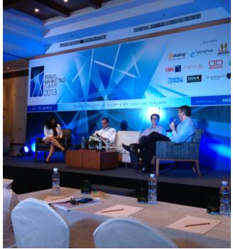 DD sponsors the Travel Marketing Summit, Khao Lak, Thailand