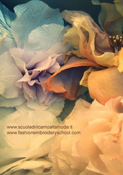 Corso di fiori in seta a Roma