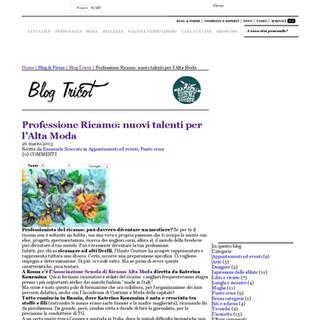 Professione Ricamo_ Blog Tricot_Corriere