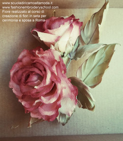Silk flowers course for wedding