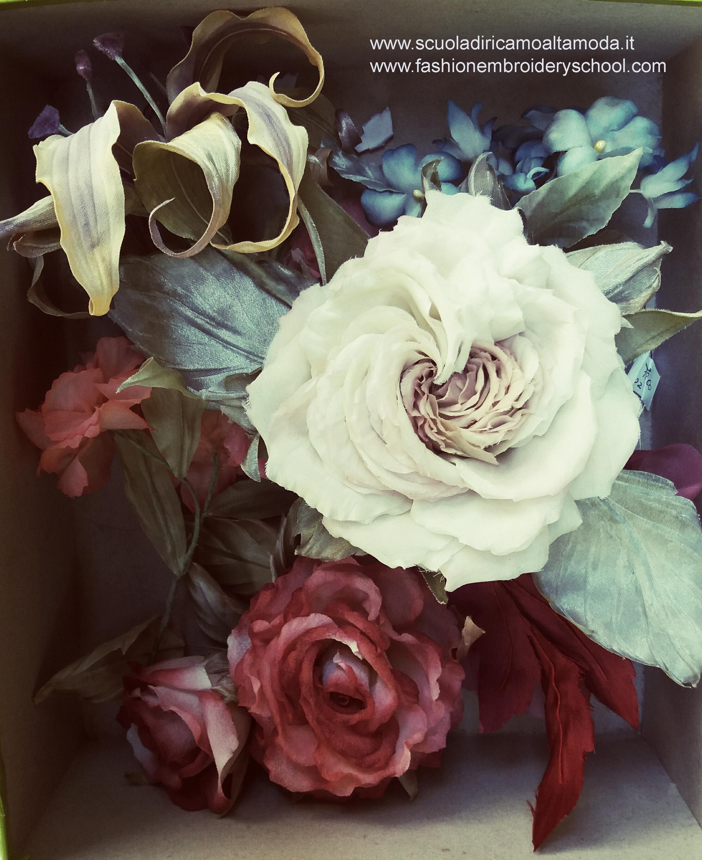 Corso fiori in seta