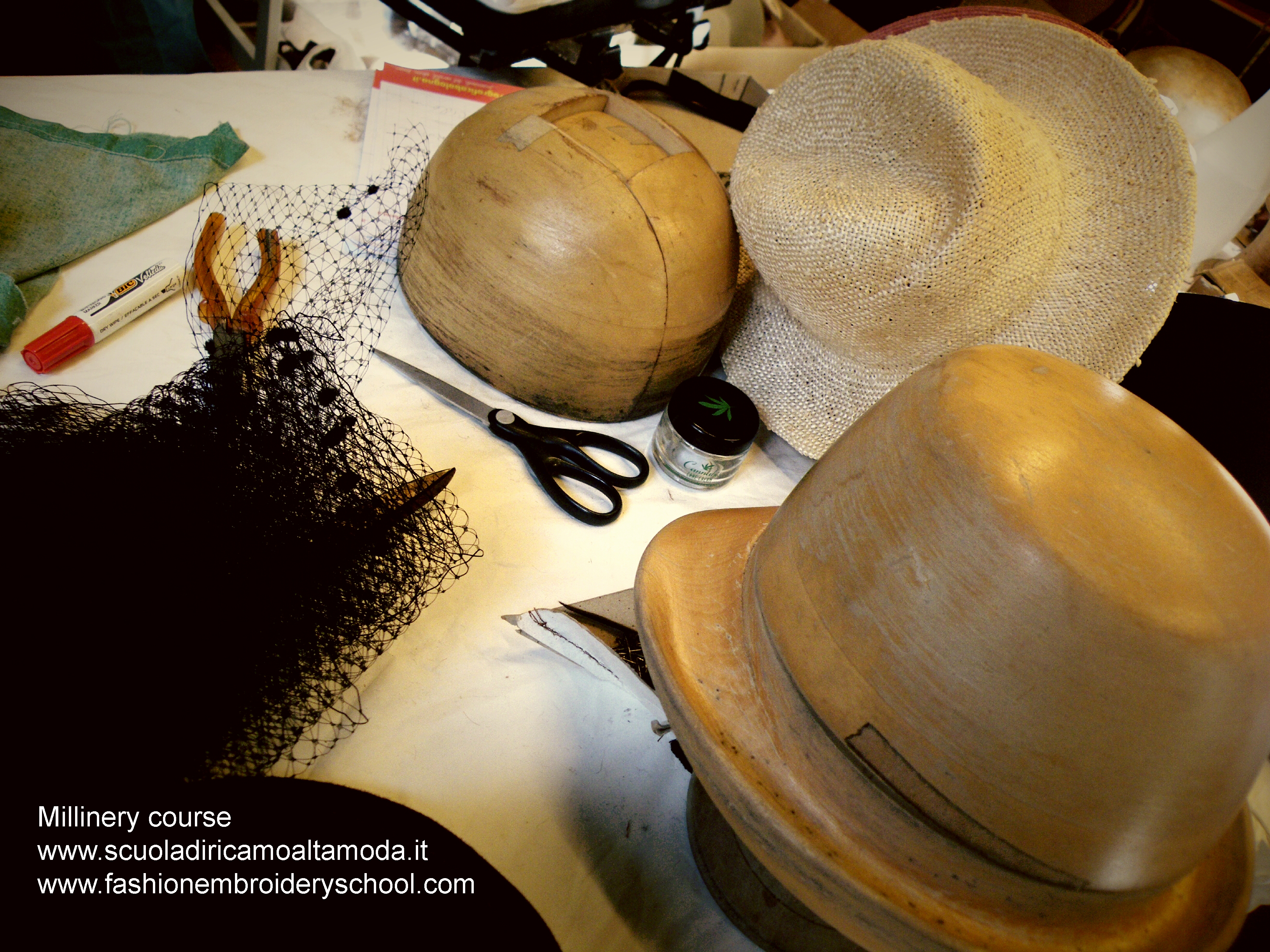Millinery course