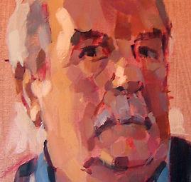 portrait image by Keith Morton artist painter