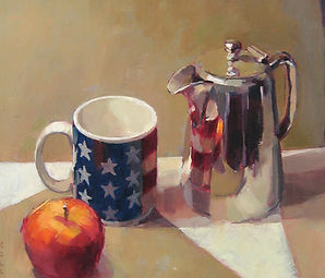 still life image by Keith Morton artist painter