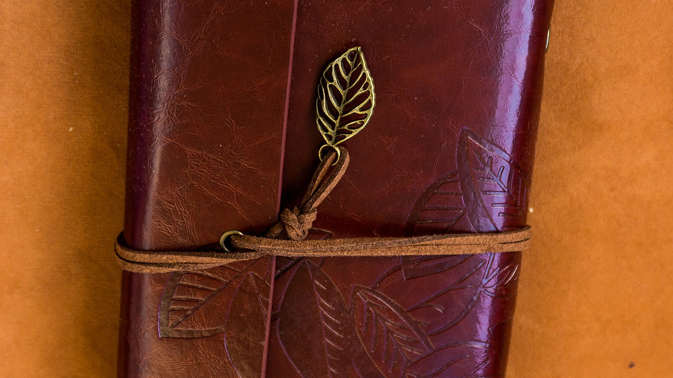 Character Journal (Red Brown)