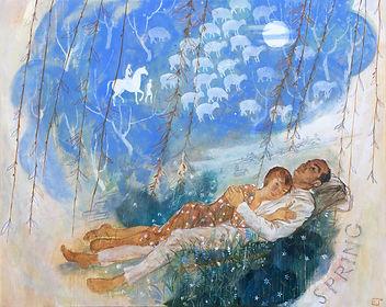 Olga Kataeva-Rochford - Spring - Décades de la peinture 3