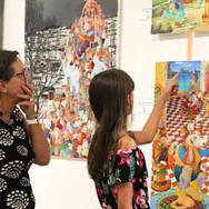 Festival les Décades de la peinture pour les artistes peintres émergents et indépendants, à Brioude, Haute-Loire