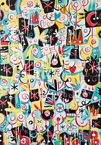 Stéphane Cattaneo - Sans titre, 62x90 cm Acrylique sur toile