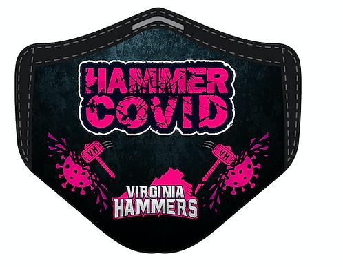 Hammer Covid Mask Pink