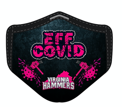 Eff Covid Mask Pink