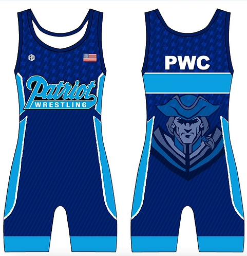 PWC Blue Singlet