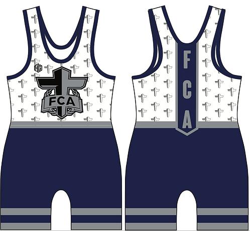 FCA Blue Singlet