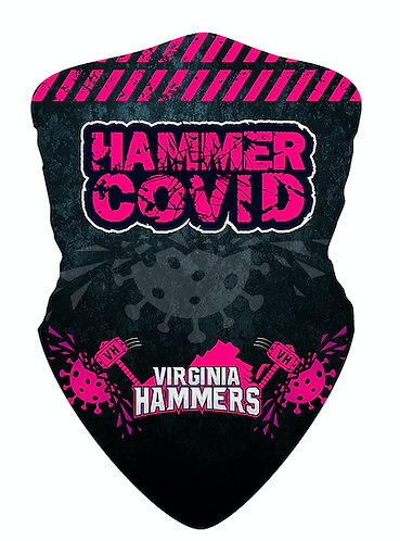 Hammer Covid Gator Pink