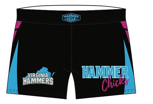HAMMER CHICKS Wrestling Shorts