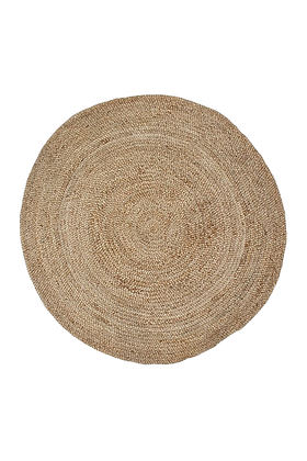 Round Braided Jute Rug 240 cm