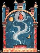 image medievale - fumage lent (transpare