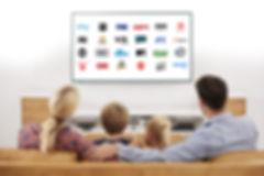 Digital Lead Beast, family wtching TV