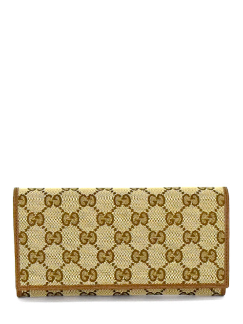 ORIGINAL CLASSIC GG CANVAS LONG WALLET GC346058