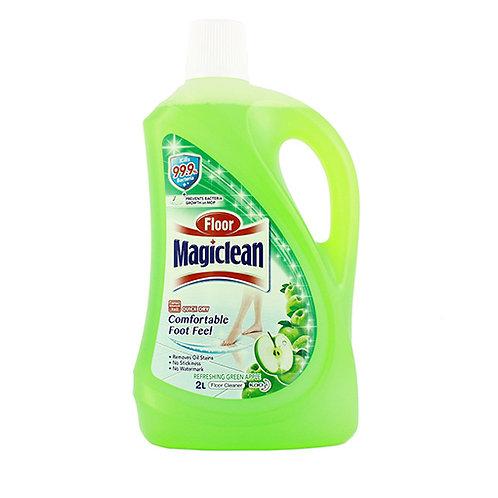 Magiclean Floor Refresh Green Apple2L