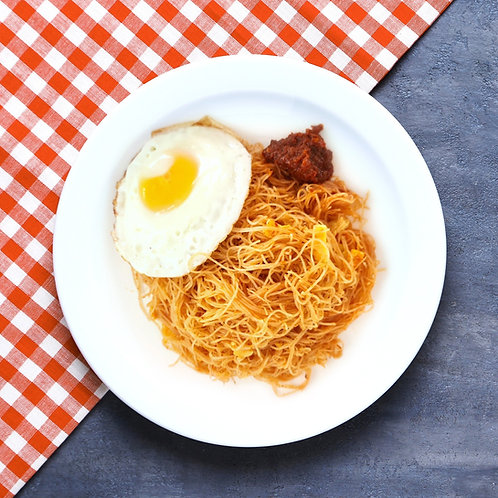Fried Bee Hoon with Egg