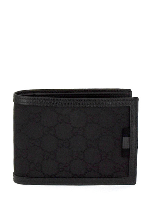 GG CANVAS SMALL BIFOLD WALLET GC278596