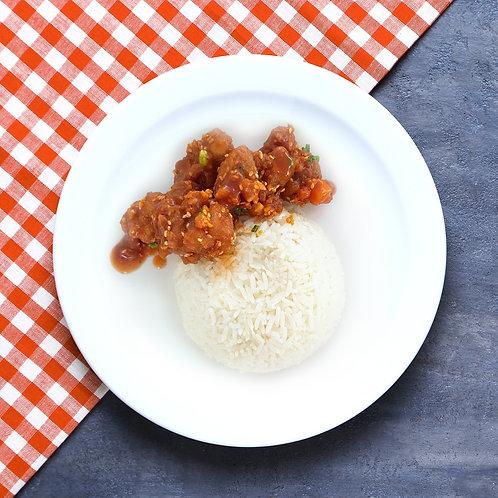 Honey Chicken with Rice