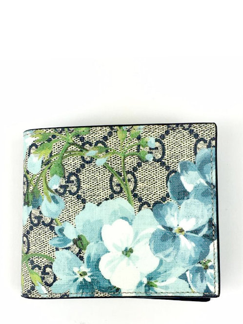 MULTICOLOUR BLOOMS GG SUPREME WALLET GC546351