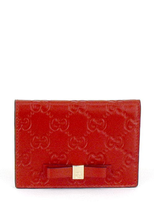 GG RED WINE BOWY CARD HOLDER GC451192