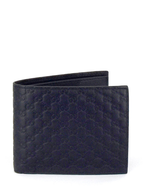 MICRO GUCCISIMA BIFOLD LEATHER WALLET GC260987
