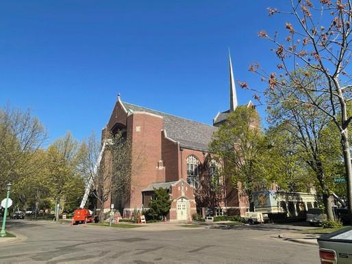 Church Restoration is Underway