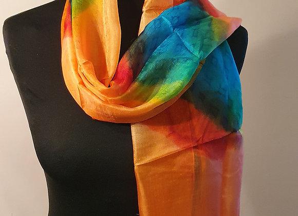Fine Silk scarf (Multicoloured)