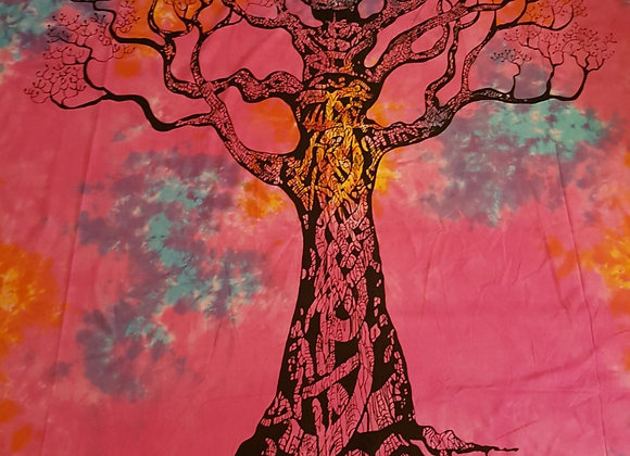 Tree Of Life (Pink and multi)