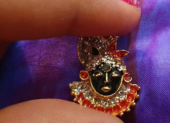 Hand Made Shri Krishna God Pendent