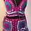 Thumbnail: Crochet Skirt with Crop Top and a small cute little purse (Woollen)