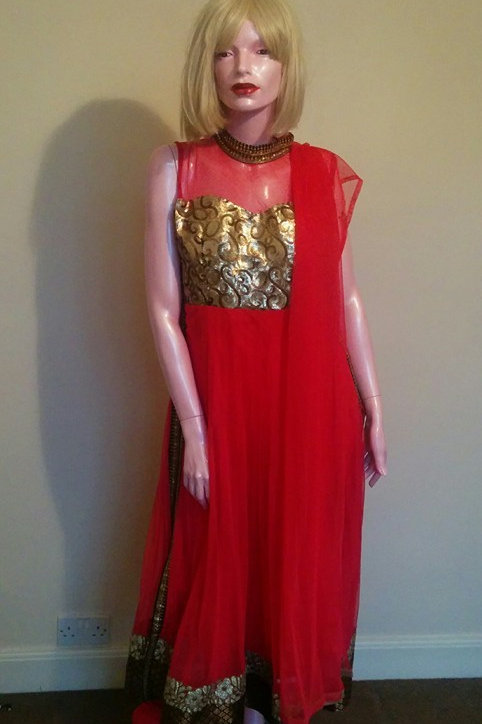 Three Piece Indian Dress