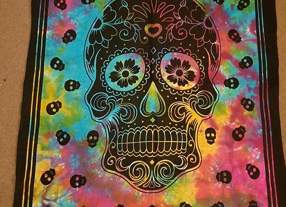 Floral Skull Print (Multicolour #2 )