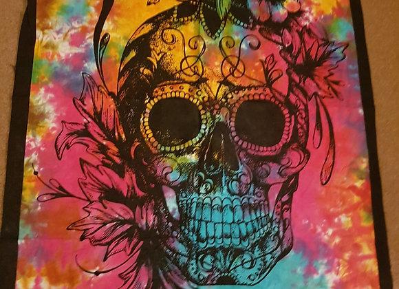 Floral Skull Print (Multicolour #1 )