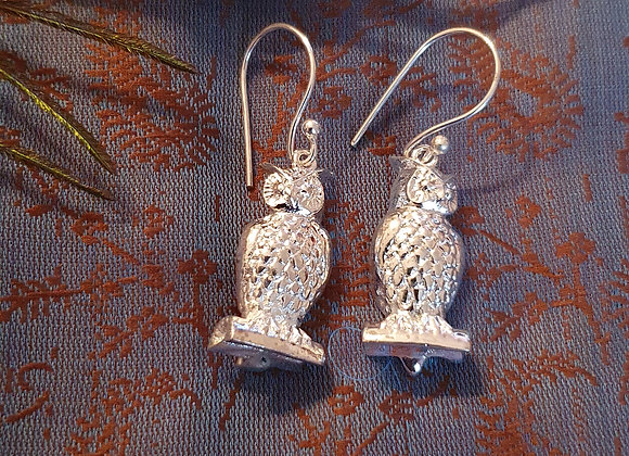 Owl (Silver Plated)
