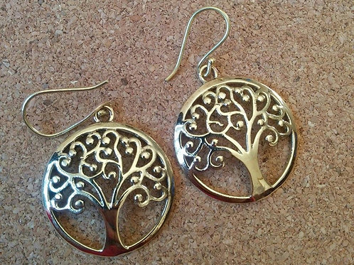 "'Tree Of Life "" Earrings"