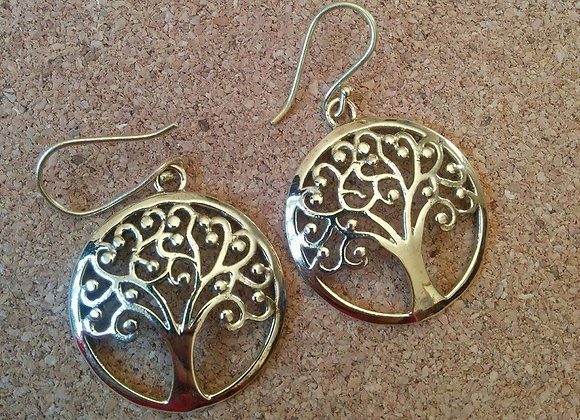 "'Tree Of Life "" Earrings"