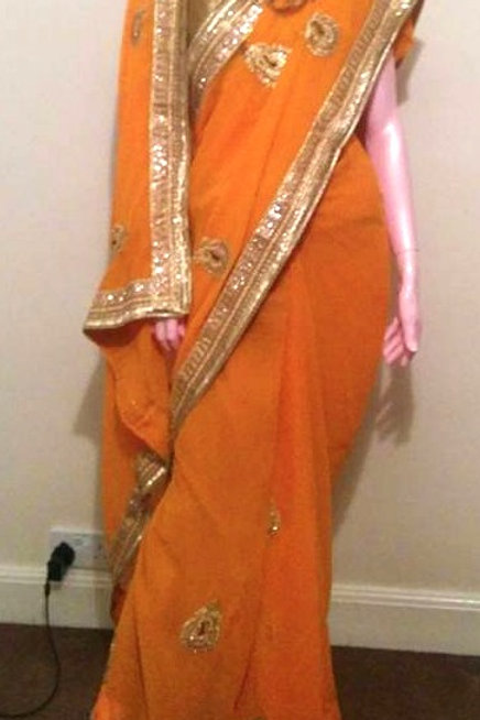Hand Stitched Ready to Wear Sari