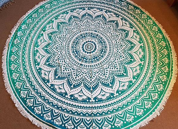 Lotus Mandala(Turquoise ,Green)
