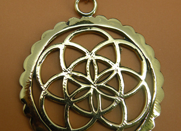 "SEED OF LIFE ""Sacred Geometry"" Handmade"