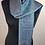 Thumbnail: Fine Silk Stole  (Turquoise)