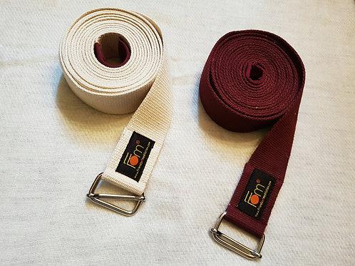 Yoga Belts (100% organic cotton)